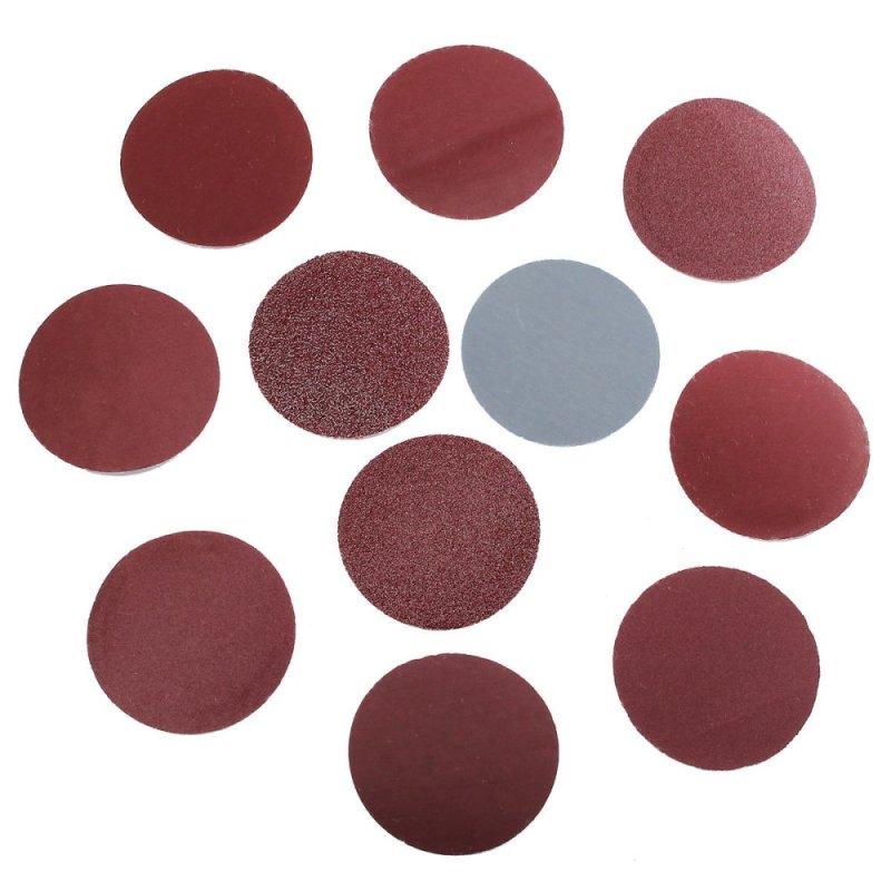 100pcs 2inch(50mm) Sander Disc Sanding Pad Polishing Pad Sandpaper Mix Set - intl