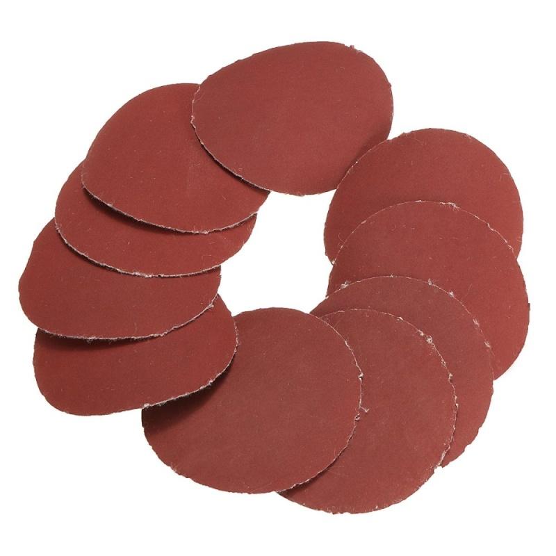 10x 50mm 2inch Sanding Discs Sandpaper 1200 Grit - intl