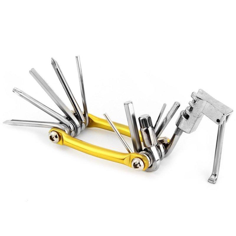 11in1 Multi-functional Bike/MTB Repair Tool (Yellow) - intl