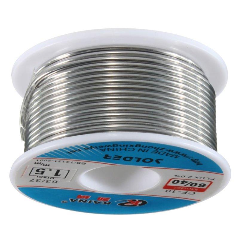 1.5mm 60/40 Tin lead Rosin Core Solder Wire Reel - intl