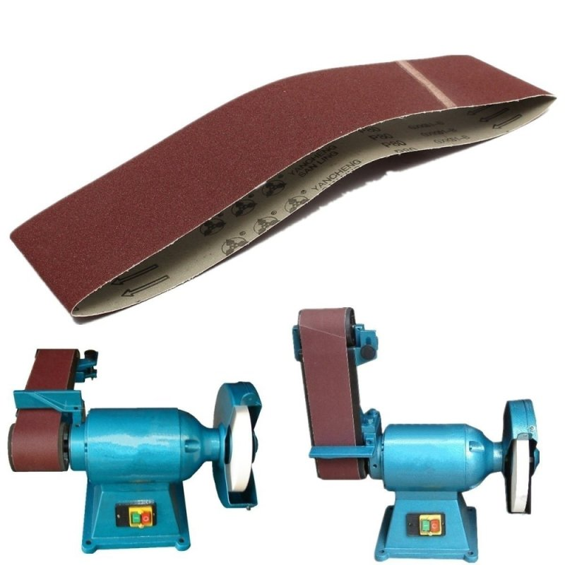 1PC Durable 4 Inch x36 Inch Sanding Belts 80 Grit Aluminium Oxide For Sander Replacement Accessories Top Quality - intl