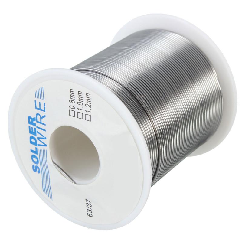 200g 1mm 63/37 Tin Lead Rosin Core Soldering Wire Reel Solder FLUX Welding Tool - Intl