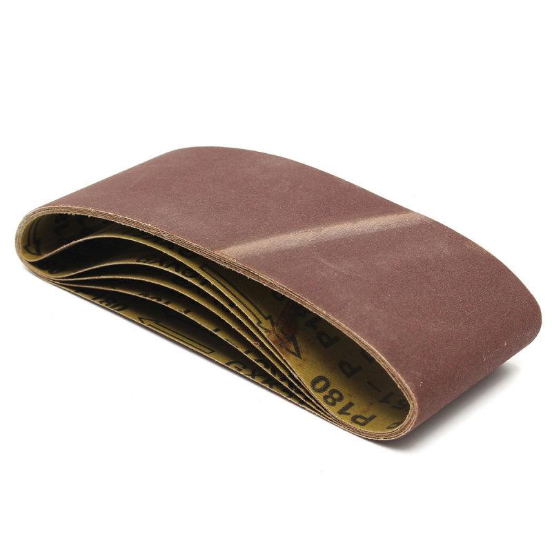 20pcs Zirconia Abrasive Sanding Belts 474x72mm For Sanding Light Metal Wood - Intl
