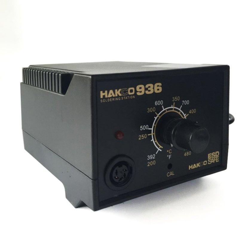 220V HAKCO 936 Soldering Station Kit ,907 soldering handle + 10pcs High Quality Solder Tips - intl