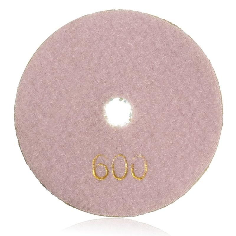 "4"" Inch 10cm Wet Dry Diamond Polishing Pads For Granite Marble Concrete Stone - intl"