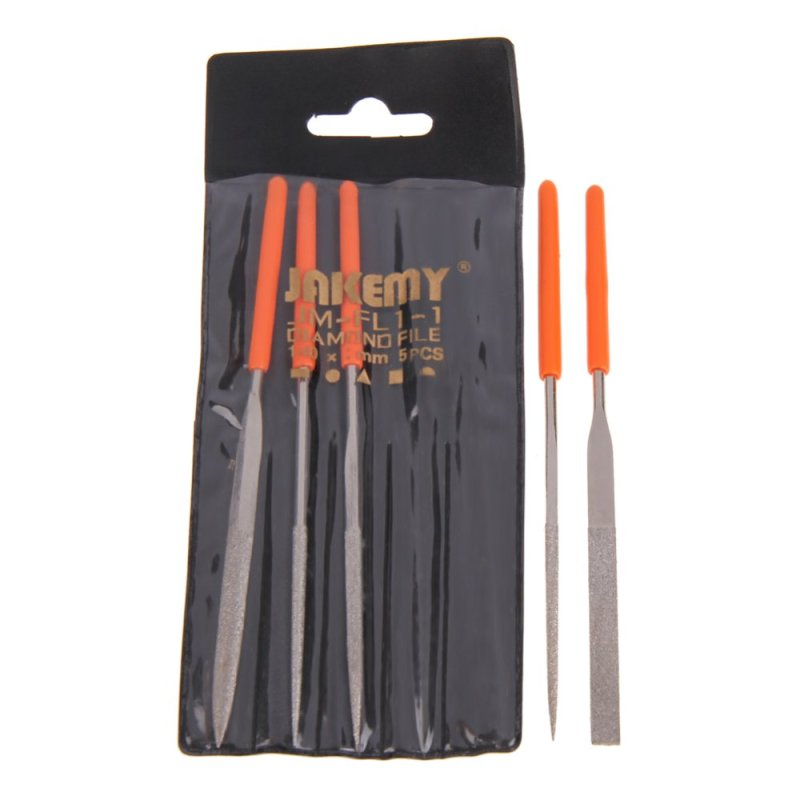 5 in 1 New Diamond Needle File Practical Durable Metal Repair Tool Kit Set