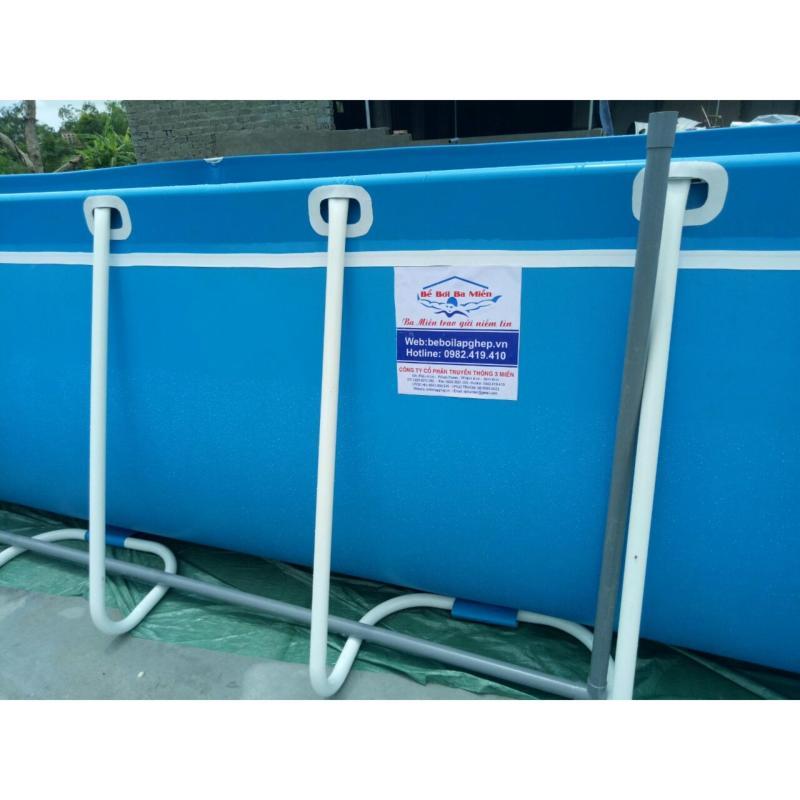 Bể bơi lắp ghép thông minh 3.6*6.6*1.2m