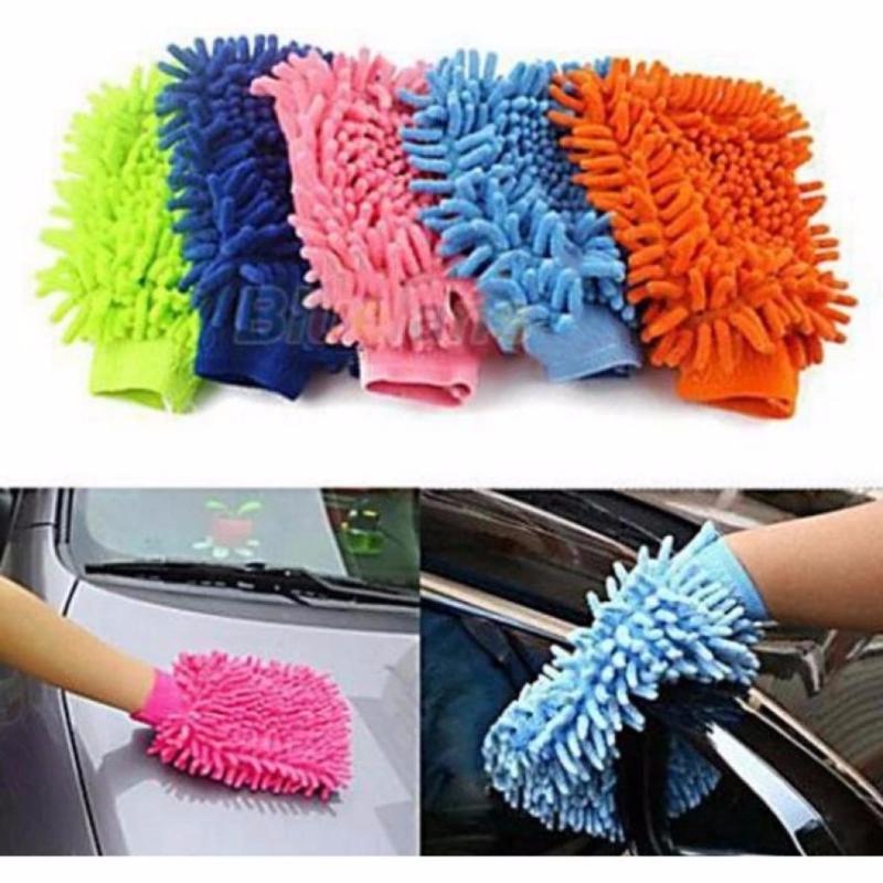 Bộ 2 găng tay lau rửa xe