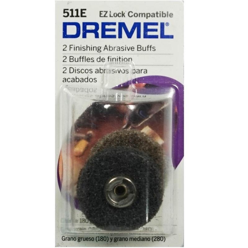 Bộ 2 miếng đánh bóng độ mịn 180 & 280 Dremel 511E
