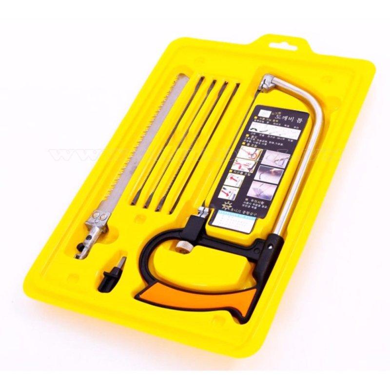Bộ cưa cầm tay 8 món + tặng nhiệt kế điện tử Features K-018