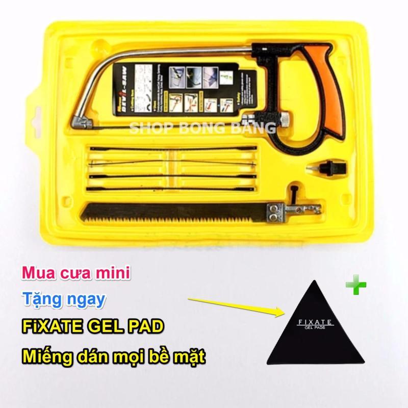 Bộ cưa mini đa năng cầm tay NQP1211 + tặng miếng dán Fixate gel pad