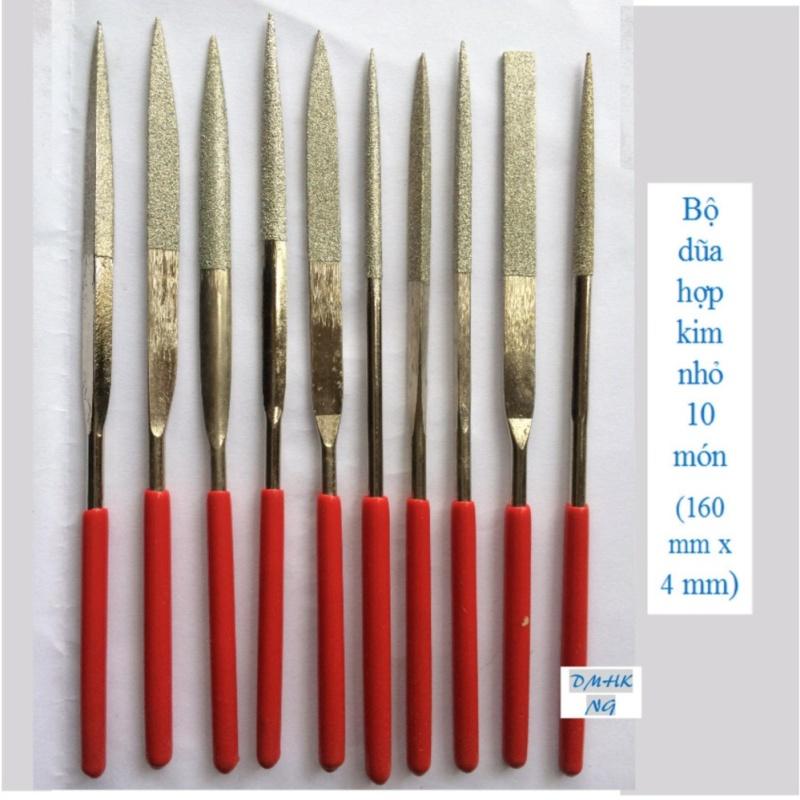 Bộ dũa hợp kim 10 món 4 x 160 mm