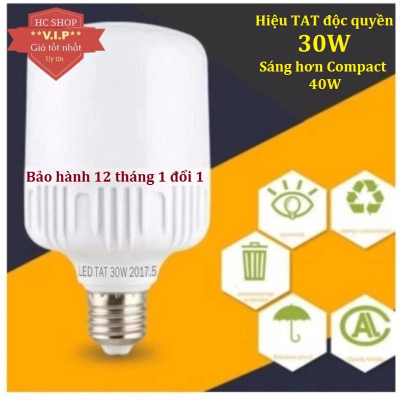 Mua Bóng đèn Led trụ 30W TAT Siêu sáng - tiết kiệm điện (Trắng)