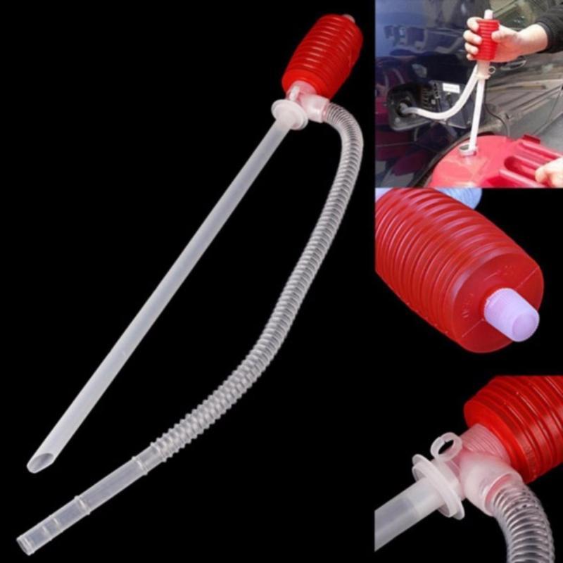 Combo 2 Dụng cụ bơm- hút xăng dầu, chất lỏng bóp tay