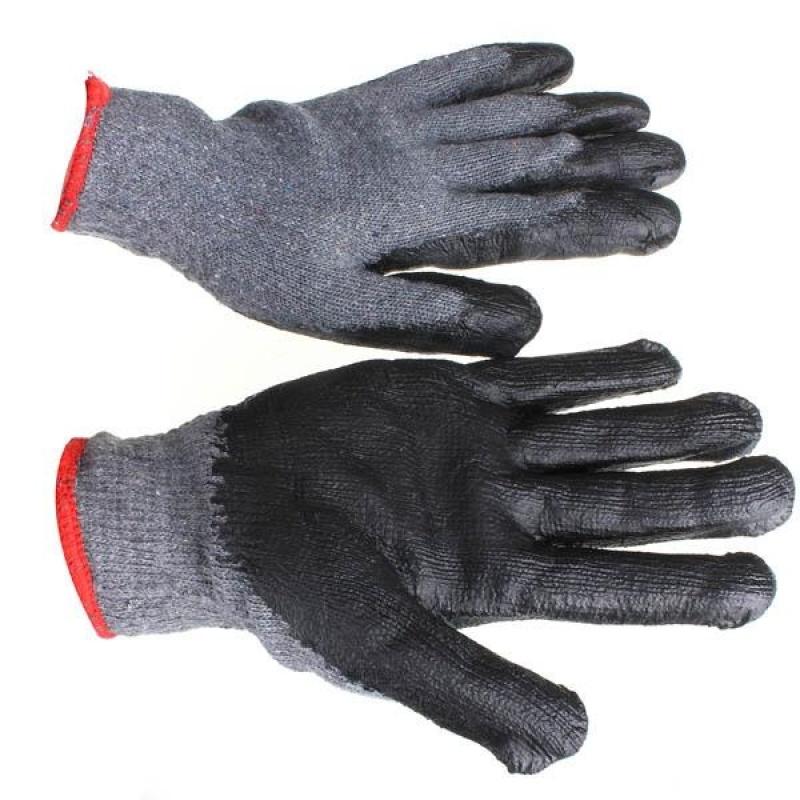 Cotton yarn coating dipped in thorn garden gardening labor insurance gloves - intl