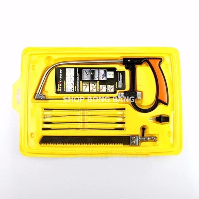 Cưa mini 8 món cầm tay B2ST288 + miếng thép 11 chức năng