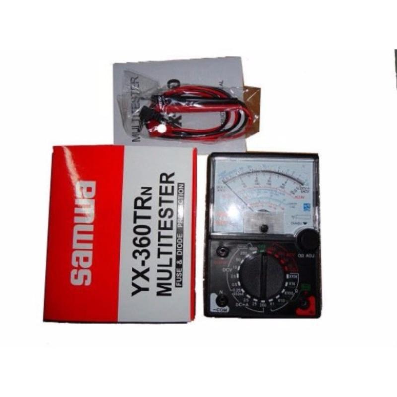 Đồng hồ đo điện kim SAMWA YX – 360 - Huy Tưởng