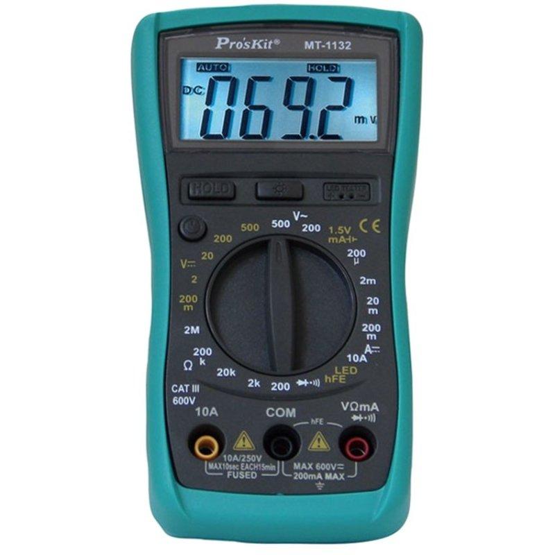 Đồng hồ đo Pro'skit MT-1132 (Xanh phối đen)