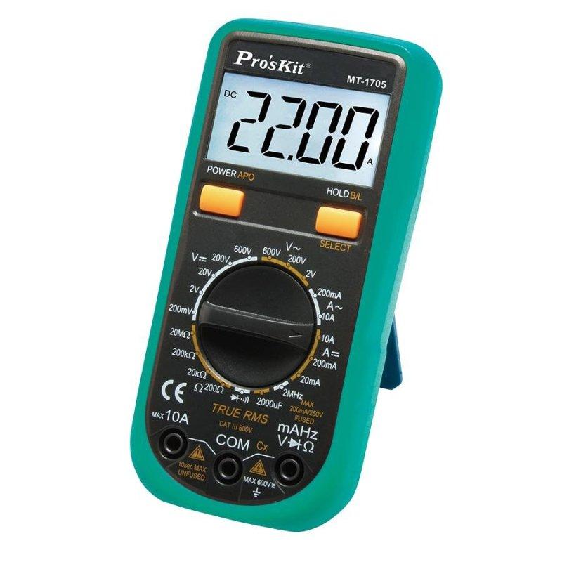 Đồng hồ đo Pro'skit MT-1705 (Xanh phối đen)