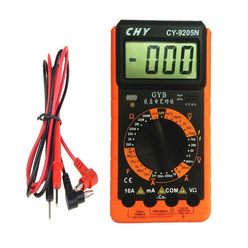Đồng hồ đo vạn năng cho thợ điện tử CHY CY-9205N