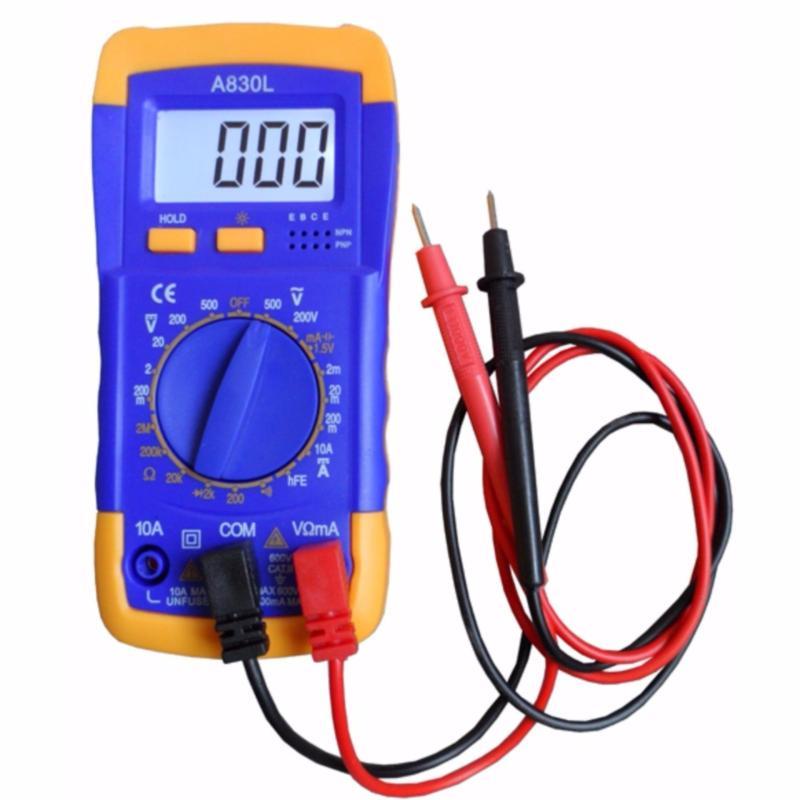 Đồng hồ đo vạn năng Digital Multimeter A830L tặng bin 9v