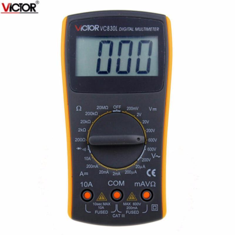 đồng hồ vạn năng cầm tay Victor VC830L(vàng)