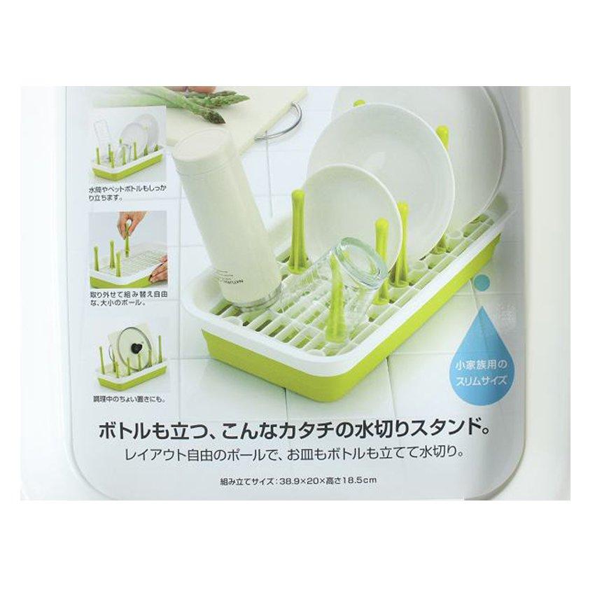 Dụng cụ cắm bình sữa cốc Inomata (Xanh lá)