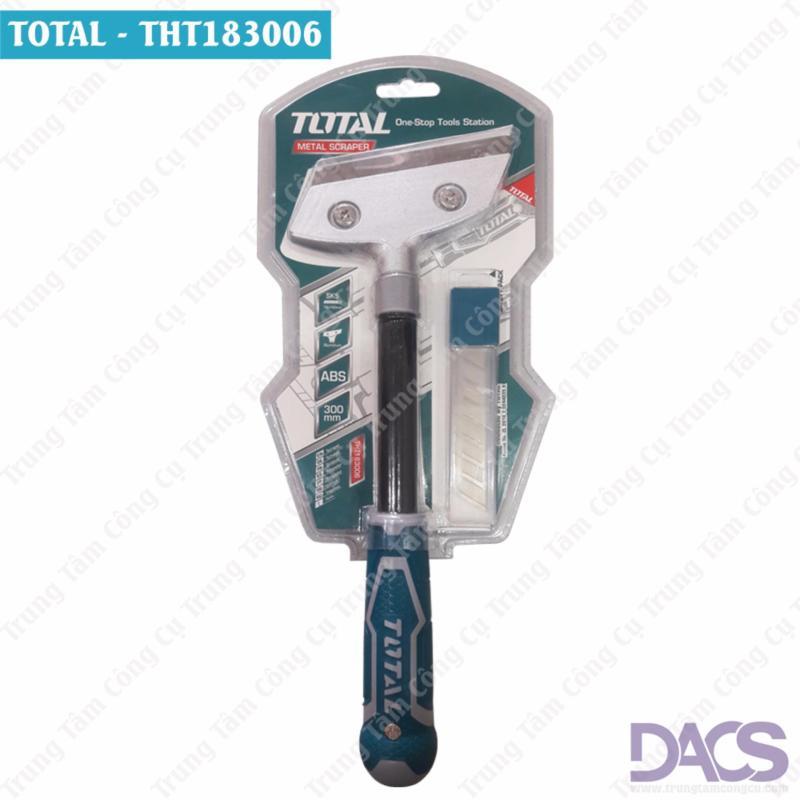 Dụng cụ cạo kính cao cấp Total THT183006 (Tặng kèm 5 lưỡi dao cạo)