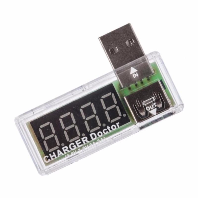 Dụng cụ kiểm tra nguồn và dòng các bộ sạc USB