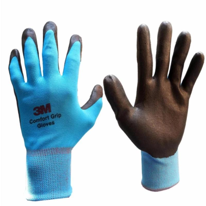 Găng tay bảo vệ 3M Comfort Grip Gloves size L (Xanh da trời)