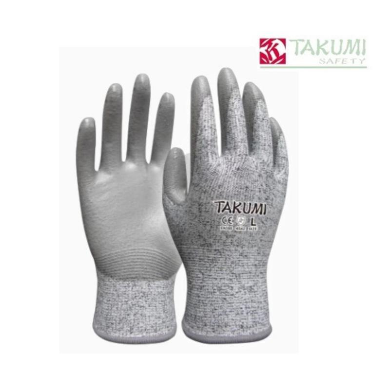 Găng tay chống cắt phủ PU Takumi P775
