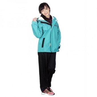 Áo mưa bộ xanh cốm Sơn Thủy K18A