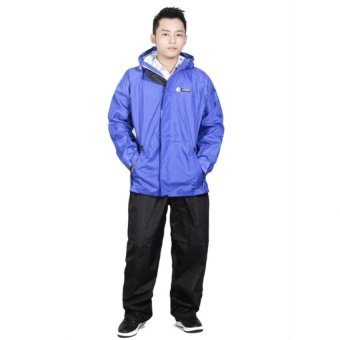 Áo mưa bộ Sơn Thủy K18D (xanh dương)