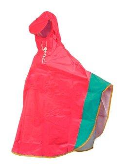 Áo mưa trẻ em 12 tuổi (Đỏ phối xanh)