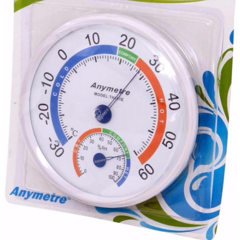 Nhiệt ẩm kế cơ học đo độ ẩm và nhiệt độ Anymetre TH-101E
