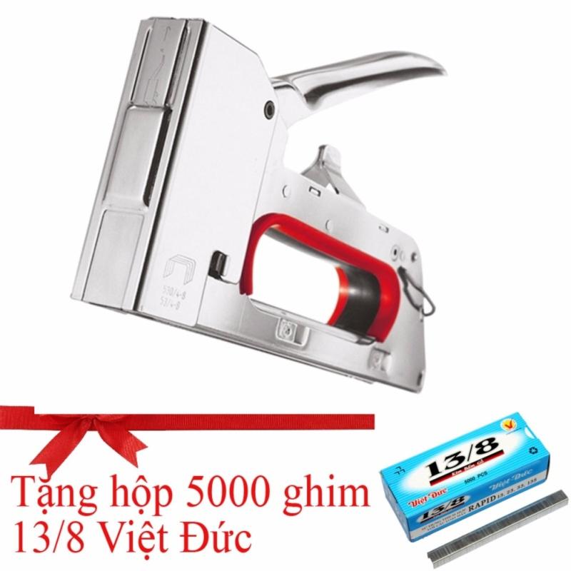 Súng bắn ghim cầm tay Cao cấp UNC - SL999 (Tặng 1 hộp 5000 ghim Việt Đức 13/8)