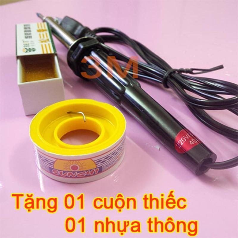 Tay Hàn Nhiệt Soldering Iron Mini ( Tặng 01 Cuộn Thiếc và 01 Hộp Nhựa Thông )