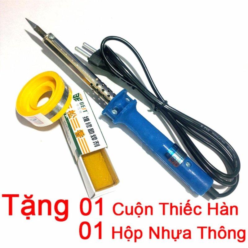 Mua Tay Hàn Nhiệt WINSTER 60W ( Tặng 01 Cuộn Thiếc Sunchi và 01 Hộp Nhựa Thông )