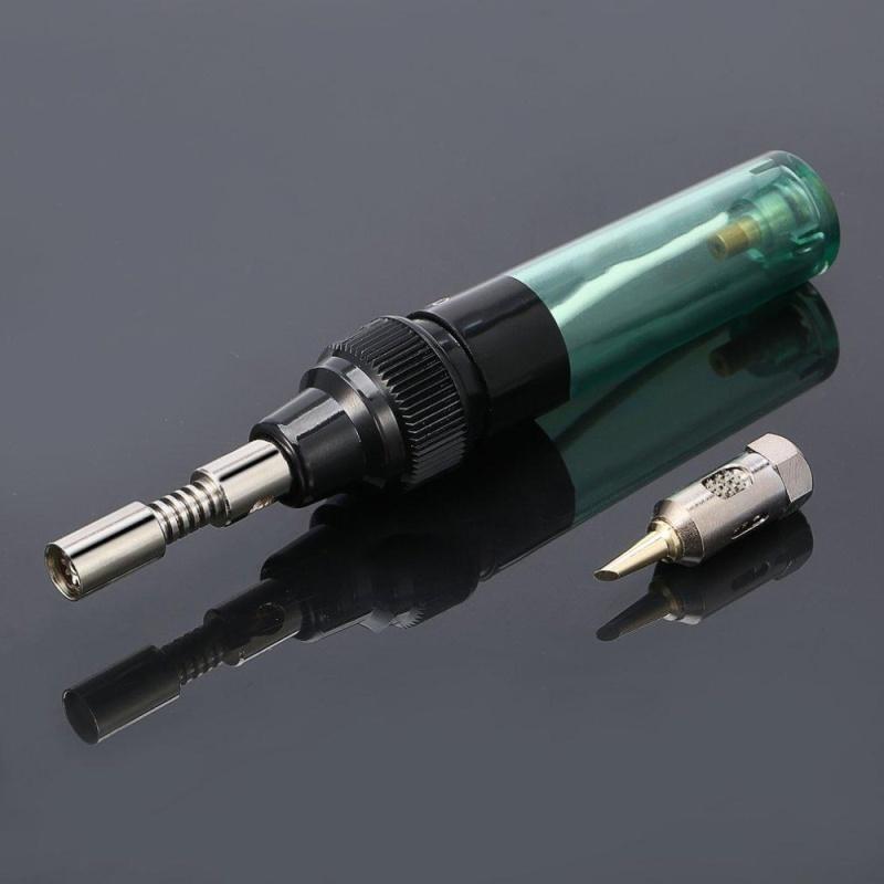 UINN Pen Shaped Electric Gas Soldering Iron Gun Blow Torch Cordless Welding Solder - intl