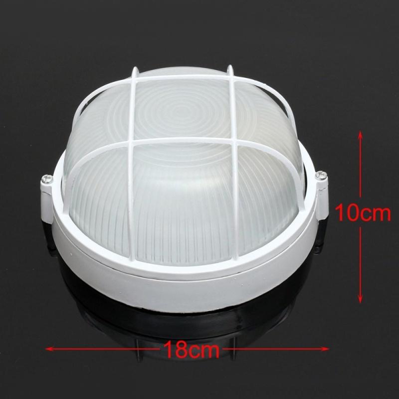 Vapor-proof Sauna/ Steam Room Light/ Lamp with Metal Guard (Round) Accessories - intl