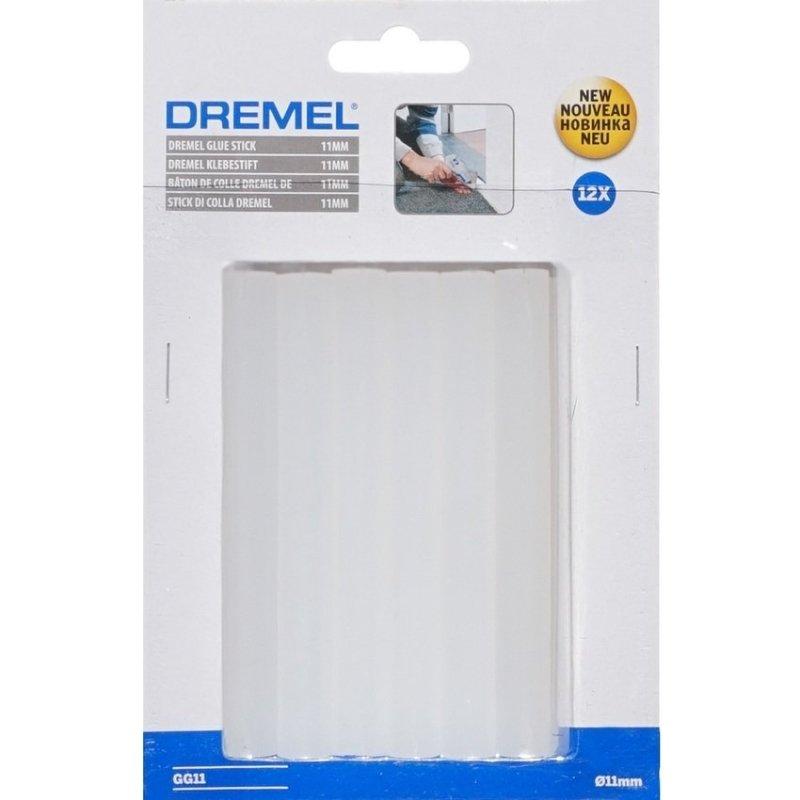 Vỉ 10 thanh keo dán nhiệt cao 11mm Dremel GG11 (Trắng)