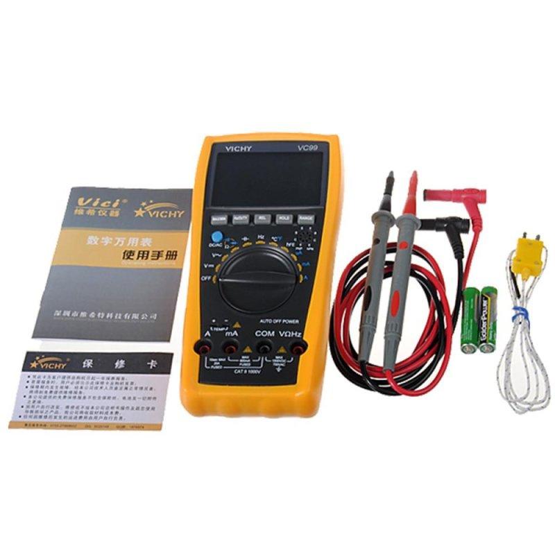 Vichy VC99 Auto Range Professional Digital Multimeter Tester - intl