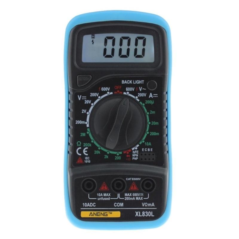 XL830L Digital LCD Multimeter Voltmeter Ammeter AC/DC/OHM Volt Tester - intl