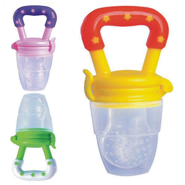 Bluelans Baby Food Nipple Silicone Feeder Pacifier L
