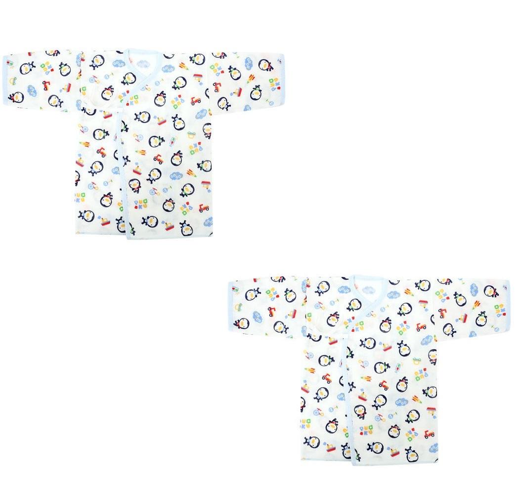 Bộ 2 áo sơ sinh Puku 20404 50cm (Xanh)