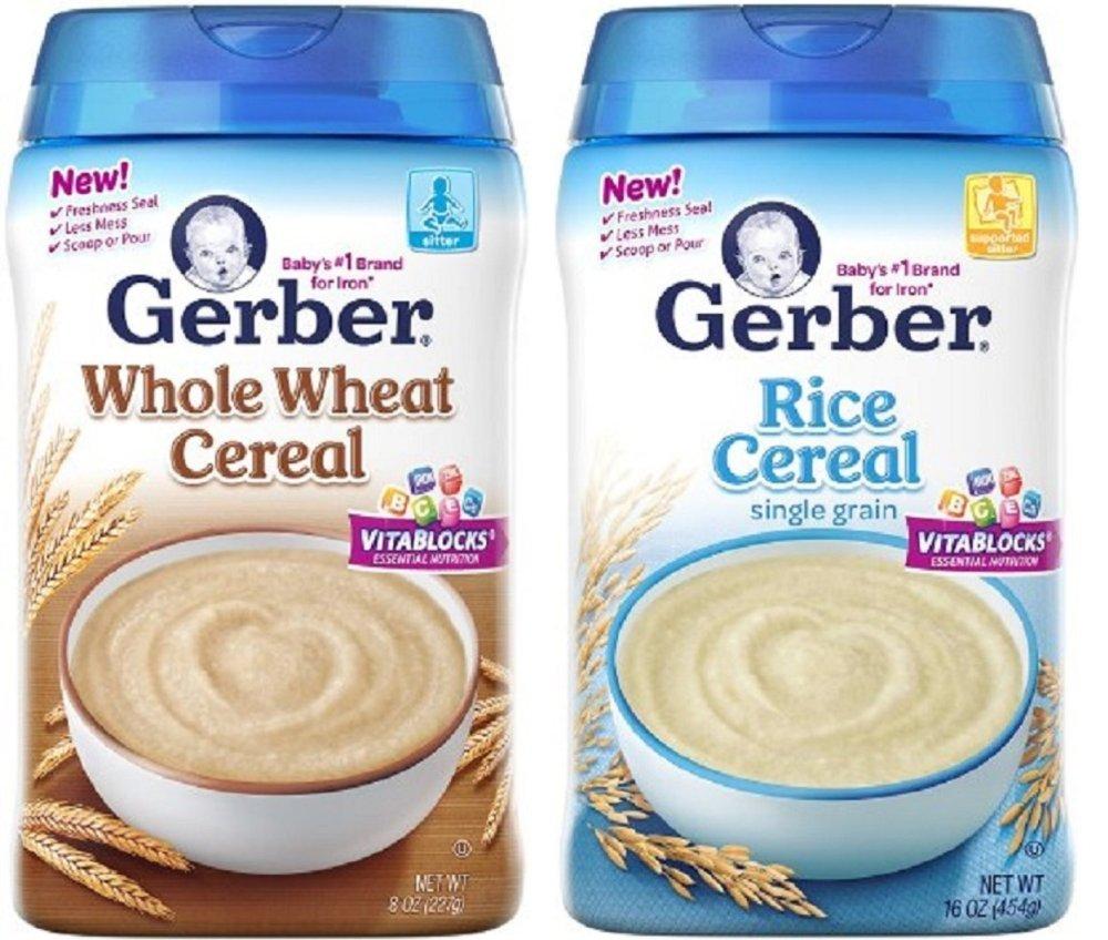 Bộ 2 hộp Bột ăn dặm Gerber Baby Cereal