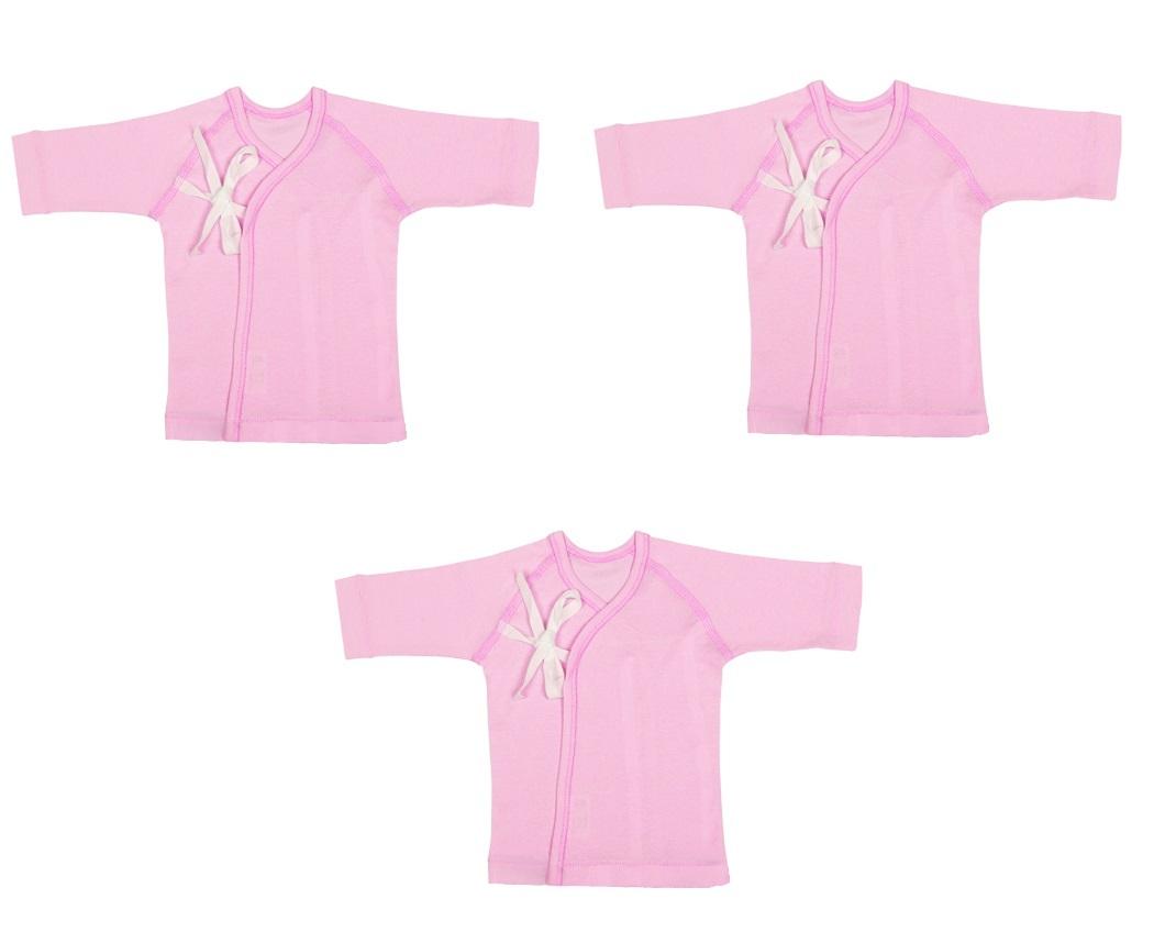 Bộ 3 áo buộc 1 dây RIB ILUMINO Size 50 (Hồng)