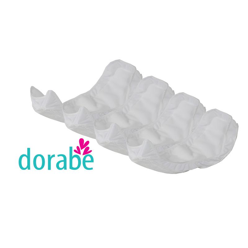 Bộ 4 miếng lót chống tràn 360 độ cho vỏ tã sơ sinh Dorabe