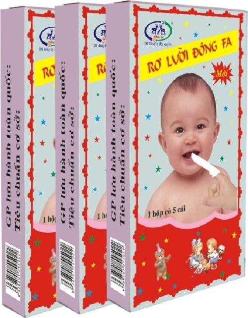 Bộ 5 hộp Rơ lưỡi bằng vải một lần tiện lợi Đông Fa 3 con nai