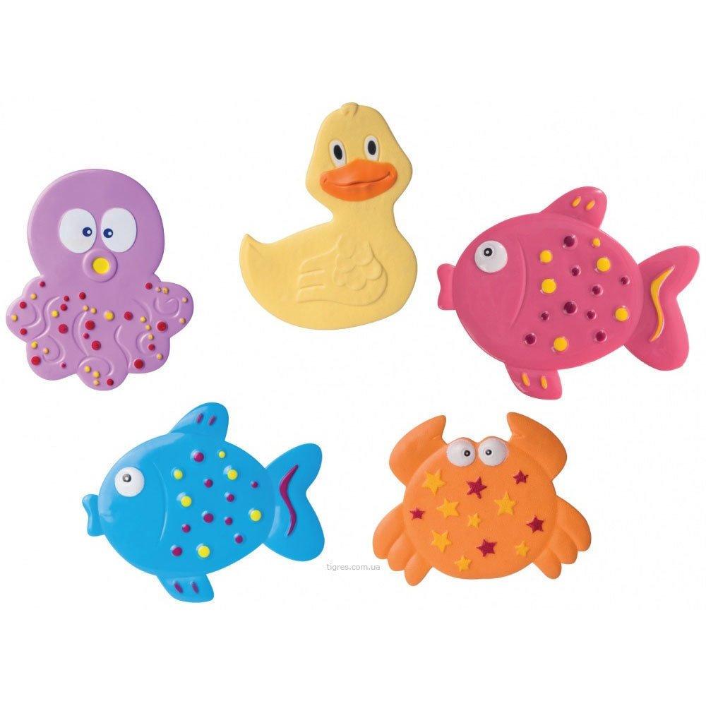 Bộ 5 Thảm chống trượt chủ đề đại dương Canpol Babies 80/003